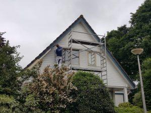 Finnpaints.nl | Buitenverf | Woning schilderen met Vinha en Unica Akva | Oudewater | Tikkurila