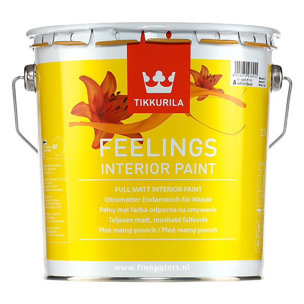 Finnpaints.nl | Verfshop | Binnenverf | Feelings Interior Paint | Tikkurila