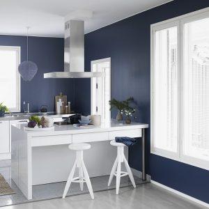 Finnpaints.nl | Binnenverf | Interieur | Keuken schilderen met Luja | Tikkurila