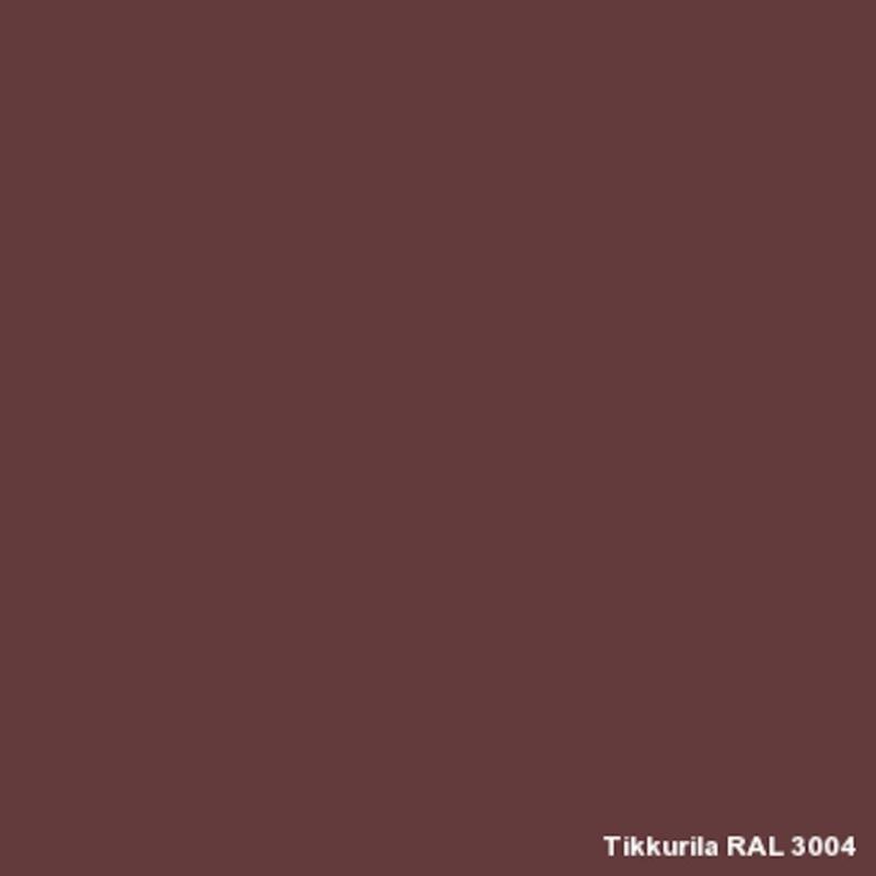 Finnpaints.nl | Kleur RAL 3004 Purple Red | Dekkend | Tikkurila