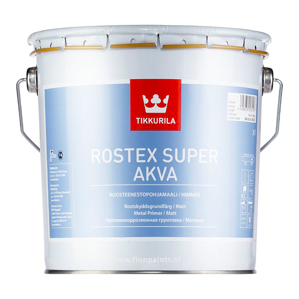 Finnpaints.nl | Voorbehandeling | Rostex Super Akva | Tikkurila