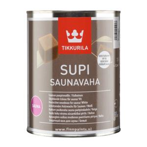 Finnpaints.nl | Verfshop | Sauna | Supi Sauna Wax wit | Tikkurila