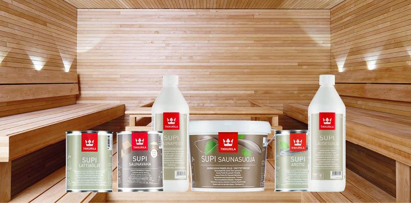 Finnpaints.nl | Sauna | Alle Supi sauna producten op een rij | Tikkurila