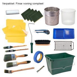 Finnpaints.nl | Non-Paint | verfpakket Finse woning compleet | Tikkurila