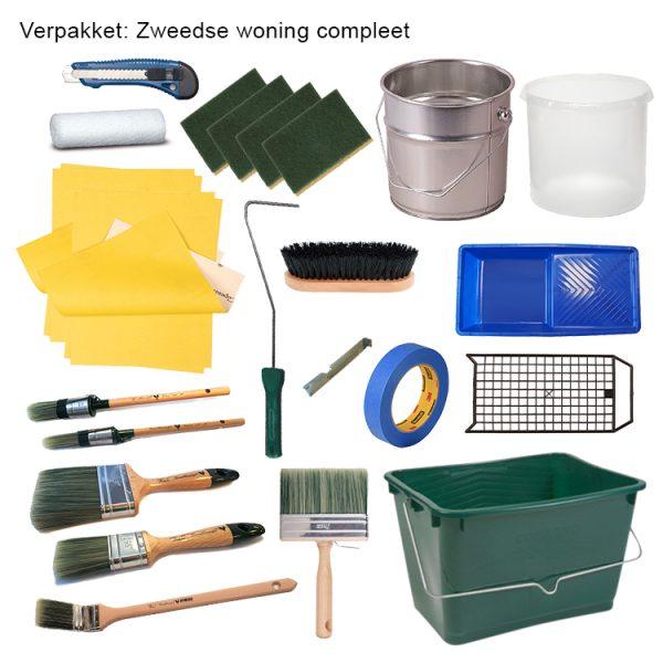 Finnpaints.nl   Verfshop   Non-Paint   verfpakket Zweedse woning compleet   Tikkurila