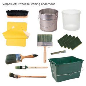 Finnpaints.nl | Non-Paint | verfpakket Zweedse woning onderhoud | Tikkurila