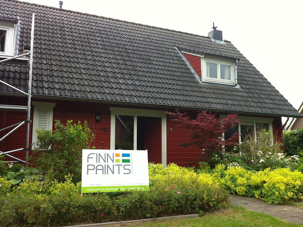 Finnpaints.nl | Project | Schilderwerk | Almere | Tikkurila