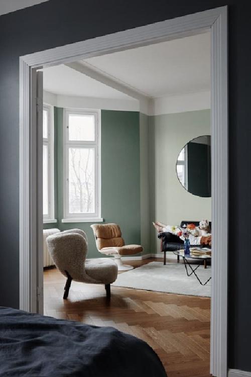 Finnpaints.nl | nieuws | fluweelachtig mat effect op de muur | Feelings interior paint | Tikkurila