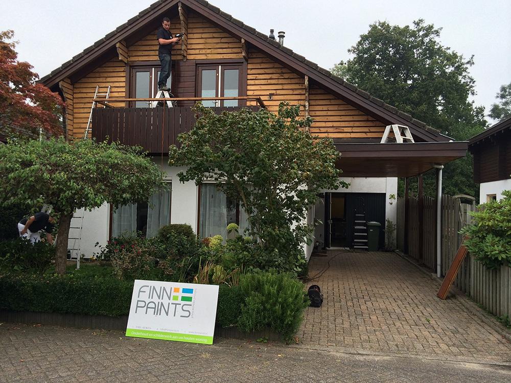 Finnpaints.nl | Project | Houtrenovatie | Schilderwerk | Leusden | Tikkurila