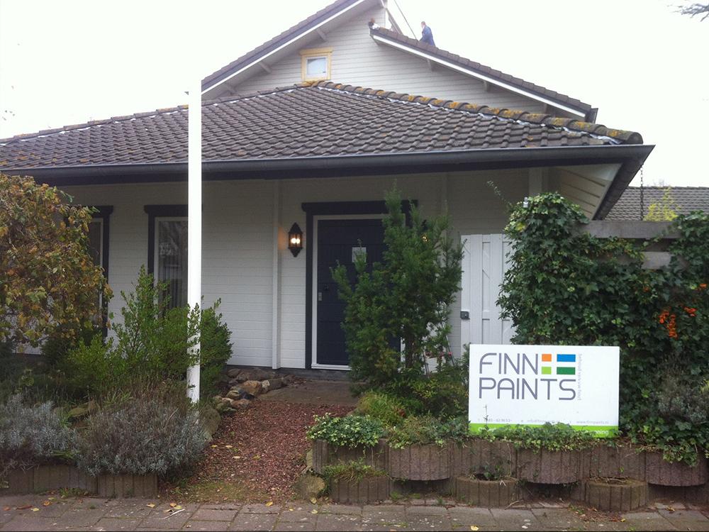 Finnpaints.nl | Project | Houtrenovatie | Sommelsdijk | Tikkurila