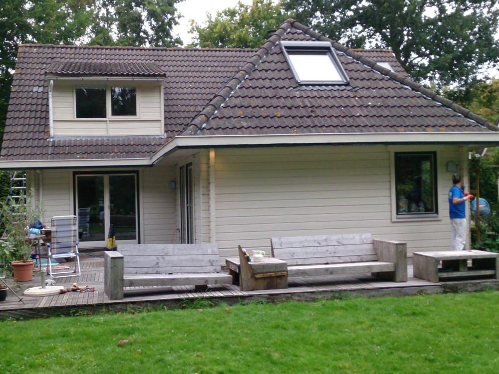 Finnpaints.nl | Reiniging | Buiten schoonmaken met Mould Removal | Schuddebeurs | Tikkurila