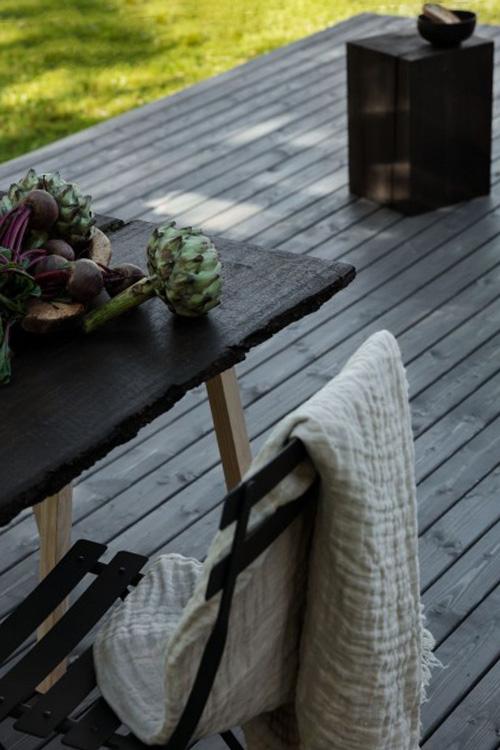 Finnpaints.nl | FAQ | hoe behandel en onderhoud je een houten terras | Tikkurila